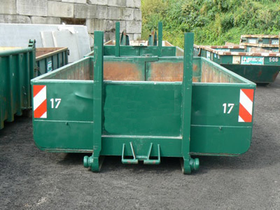 afvalcontainer 8m3