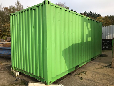 speciale container, zeecontainer