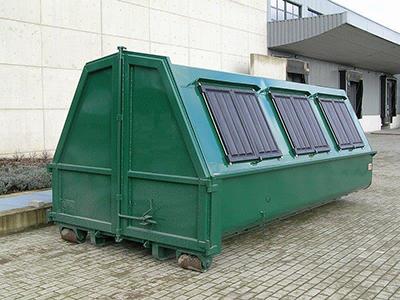 speciale container, container met luiken